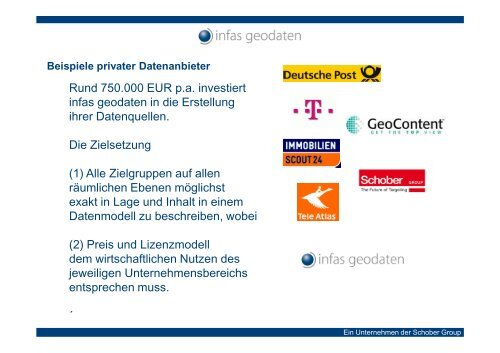 Geodaten im Geomarketing - DVW