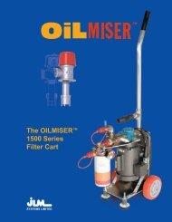 The OILMISER™ 1500 Series Filter Cart - Oilmiser.com