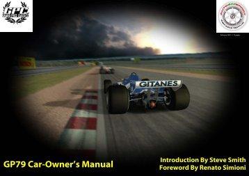 GP79 Car-Owner's Manual - Bad Boy Team