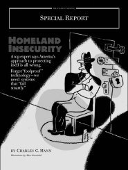 HOMELAND INSECURITY - Charles C. Mann