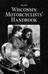 Wisconsin Motorcyclists' Handbook - Wisconsin Department of ...