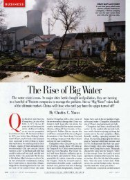 The Rise of Big Water - Charles C. Mann