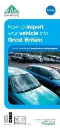 How to import your vehicle into Great Britain - Gov.uk
