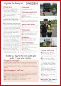 A guide to driving in - Tispol - Page 2