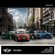 mini model catalogue - MINI.co.id