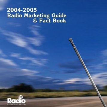 Radio Marketing Guide & Fact Book for Advertisers - Jerry Kang