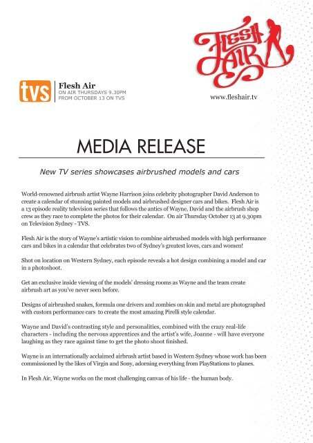 Media Release Flesh Air