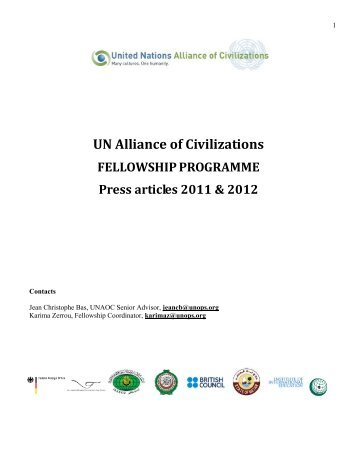 inter press service - United Nations Alliance of Civilizations