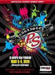 event schedule - Carlisle Events