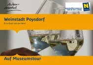 Weinstadt Poysdorf Auf Museumstour