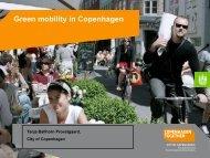 Green mobility in Copenhagen