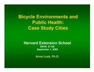 Bicycle Extension Class 1 PPT 09 03 09 - iSites