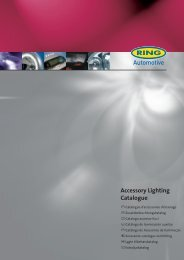 Accessory Lighting Catalogue - Ring Automotive