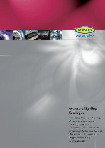 Accessory Lighting Catalogue - Ring Automotive