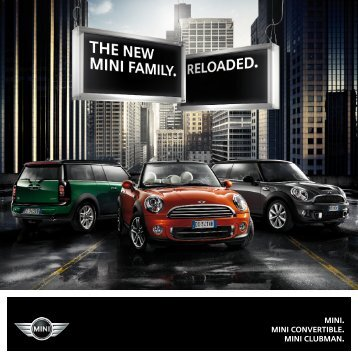 MINI. MINI Convertible. MINI Clubman. - MINI.co.il