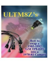 Performance If You Do Not Get The EPROM - ULTM8Z.com