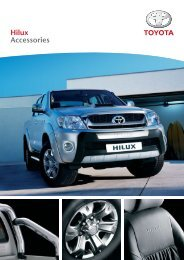 Hilux Accessories - Toyota