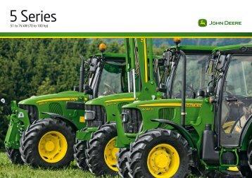 5 Series Tractors Brochure - John Deere