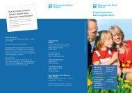 Flyer Psychologisches Beratungszentrum - Diakonisches Werk Husum