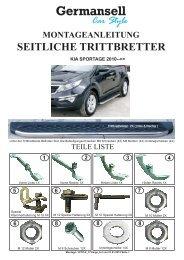 Car Style Germansell KIA SPORTAGE 2010 - auf der Seite von ...