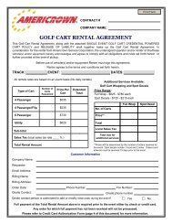 Golf Cart Rules And Regulations City Of Brillion