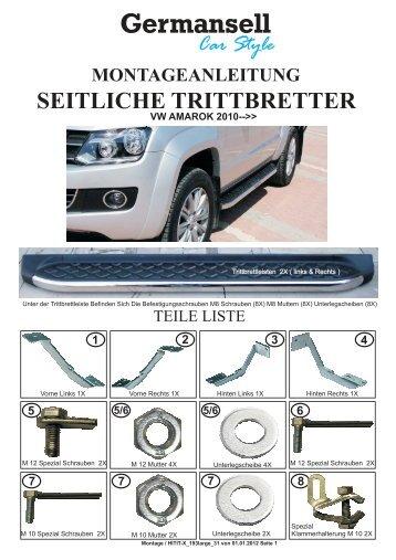 Car Style Germansell VW AMAROK 2010 - auf der Seite von ...