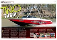 TrailerBoat editor Kevin Poulter travelled to the Murray ... - Rolco Boats