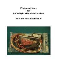 Einbauanleitung AIO-Modul