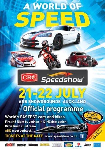 Official programme - Speedshow
