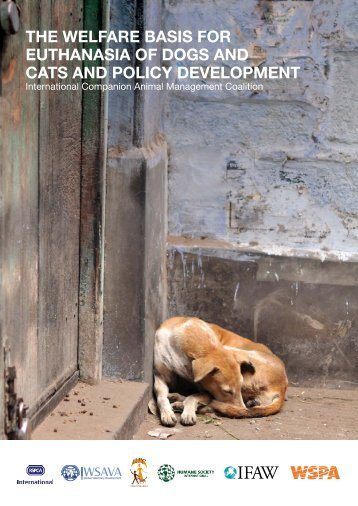 The welfare basis for euThanasia of dogs and caTs and policy ...