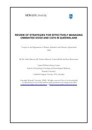 Review of strategies for effectively managing unwanted dogs