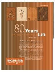 Lift 80Years - Elevator World