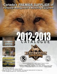CATALOGUE - Fur Harvesters Auction Inc