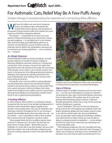 Watch Cat - Trudell Medical International
