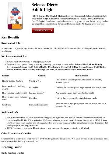 Science Diet Adult Advanced Fitness Original Hills Pet Nutrition
