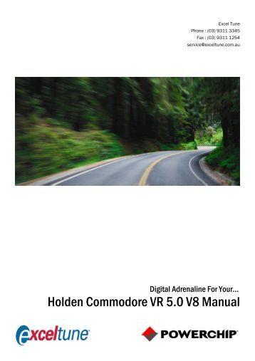 holden vr v8 service manual