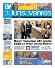 Núñez Feijóo propón catro grandes pactos para sacar ... - Galiciaé