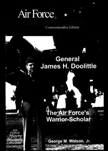 General James H. Doolittle - Air Force Historical Studies Office