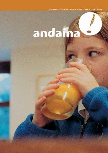 revista galega de pensamento feminista verán 07 núm. 47 ... - Andaina