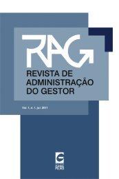 Revista de Administração do Gestor - Universidade Gama Filho