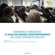 en catro cidades de galicia - Climántica - Xunta de Galicia