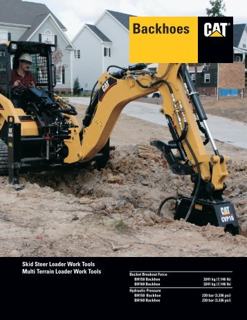 Specalog for Backhoes AEHQ5698 - Unimaq