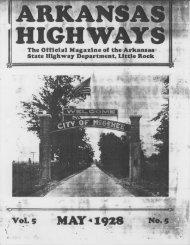 ilAf .I9i2t - Arkansas State Highway and Transportation Department