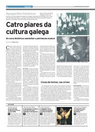 Catro piares da cultura galega. Os coros históricos - Toxos e Froles