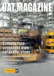 BURkINA FASo : oUvERTURE d ' UN CAT RENTAL ... - JA Delmas