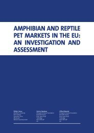 AMPHIBIAN AND REPTILE PET MARKETS IN THE EU: AN ...