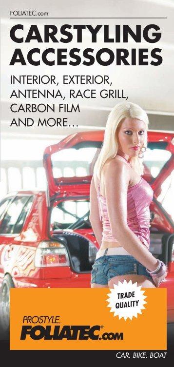 carstyling accessories - FOLIATEC®.com