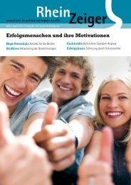 Erfolgsmenschen und ihre Motivationen - RheinZeiger