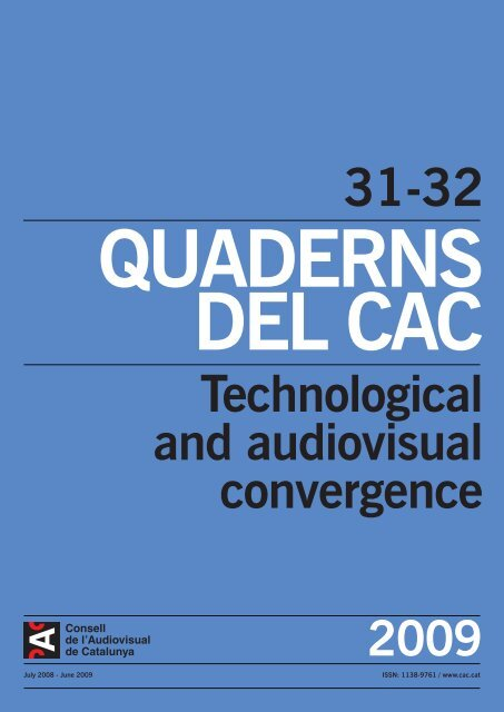 Technological And Audiovisual Convergence Cac