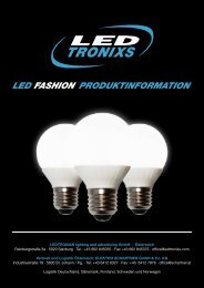 LED - Energiesparlampen Broschüre (PDF) - Elektro Schartner